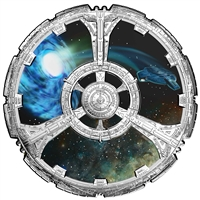 2018 $10 <i>Star Trek<sup>TM</sup>: Deep Space <i>Nine<sup>TM</sup></i> - Pure Silver Coin