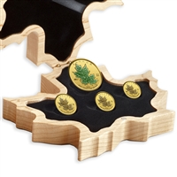 2019 40th Anniversary of the Gold Maple Leaf Fractional Set - Pure Gold Set