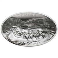 2018 $250 The Voyageurs - Pure Silver Coin