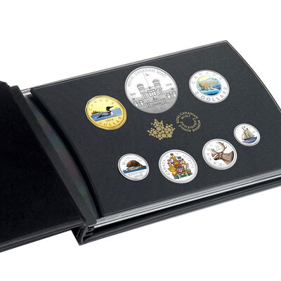 2018 Classic Canadian Colourised Proof Coin Set - Pure Siver Coin Set