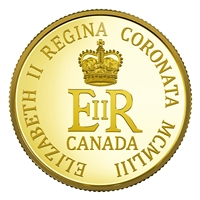 2018 $10 65th Anniversary of the Coronation of Her Majesty Queen Elizabeth II - Pure Gold Coin