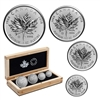 2018 Pure Platinum Fractional Set: 30th Anniversary of the Platinum Maple Leaf - Pure Platinum Coin