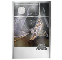 2018 $10 <i>Star Wars<sup>TM</sup>: A New Hope Silver Foil - Pure Silver Coin