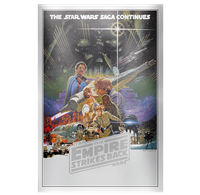 2017 $2 <i>Star Wars<sup>TM</sup>: The Empire Strikes Back Silver Foil - Pure Silver Coin