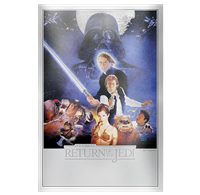 2018 $2 <i>Star Wars<sup>TM</sup>: Return of the Jedi Silver Foil - Pure Silver Coin