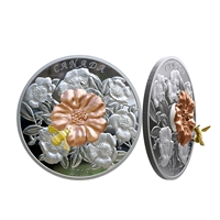 2019 $50 The Bumble Bee and the Bloom - Pure Silver Coin