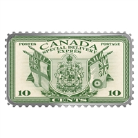 2018 Canada's Historical Stamps: COA +Flags Special Delivery