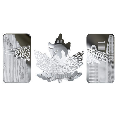 2019 Wings of Hope - Pure Silver 3-Coin Set