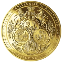 2019 $2500 Great Seal of the Province of Canada (1841-1867) - Pure Gold Coin