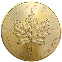 2019 $2500 40th Anniversary of the GML - Pure Gold Coin