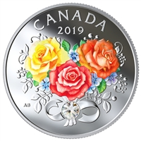 2019 $3 Celebration of Love - Pure Silver Coin