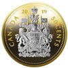 2019 50c Big Coin: Coat of Arms - Pure Silver Coin
