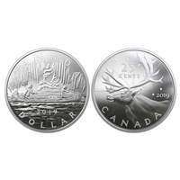 2019 Royal Canadian Mint Coin Lore: Back to Concept - Pure Silver 2-Coin Set