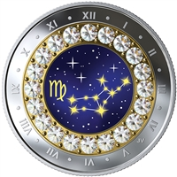 2019 $5 Zodiac Series: Virgo - Pure Silver Coin