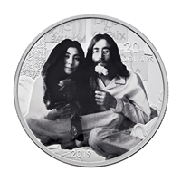 2019 $20 Give Peace A Chance: 50th Anniversary - Pure Silver Coin