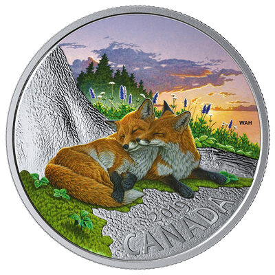 2019 $20 Canadian Fauna: The Fox