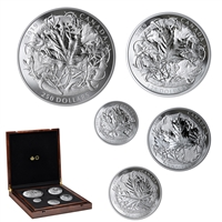 2019 The Canadian Maple Masters Collection - Pure Silver Coin Set