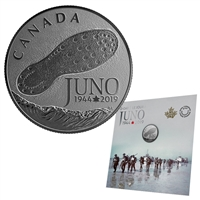 2019 $3 75th Anniversary of the Normancy Campaign: D-Day at Juno Beach - Pure Silver Coin