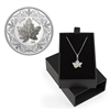 2020 $30 Canadian Maple Leaf Brooch Legacy - Pure Silver Coin & Pendant Set