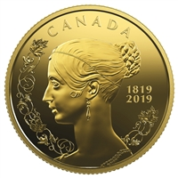 2019 $10 Queen Victoria: 200th Anniversary of Her Birth - Pure Gold Coin