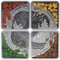 2019 $3 The Elements - Pure Silver Coin
