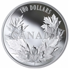 2019 $100 Canadian Maples - Pure Silver Coin