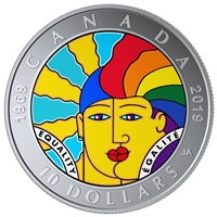 2019 $10 Equality - Pure Silver Coin