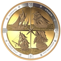 2019 $125 Silver Tall Ships of Canada