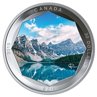 2019 $30 Peter McKinnon Photo Series: Moraine Lake - Pure Silver Coin