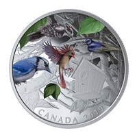 2019 Silver $30 Birds in the Backyard