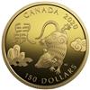 2020 $150 Year of Rat - 18-Karat Gold Coin