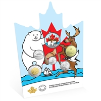 2019 Everlasting Canadian Coins Circulation Coin Set
