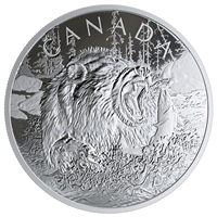 2019 Silver $125 Primal Predators: Grizzly