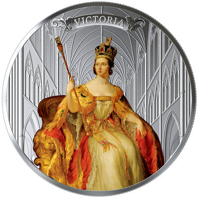 2019 $50 Queen Victoria: 200th Anniversary of Her Birth - Pure Silver Coin