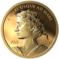2020 Gold $200 Au Peace Dollar
