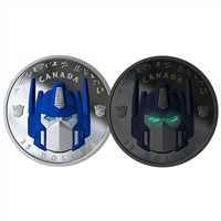 2019 $25 Transformers: Optimus Prime - Pure Silver Coin