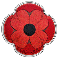 2019 $10 Silver Remembrance Day Poppy