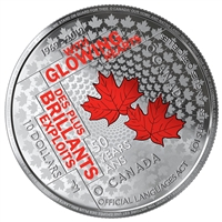 2019 $10 50th Anniversary of the Official Languages Act - Pure Silver Coin