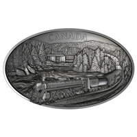 2019 $250 100th Anniversary of CN Rail - Pure Silver Kilo Coin