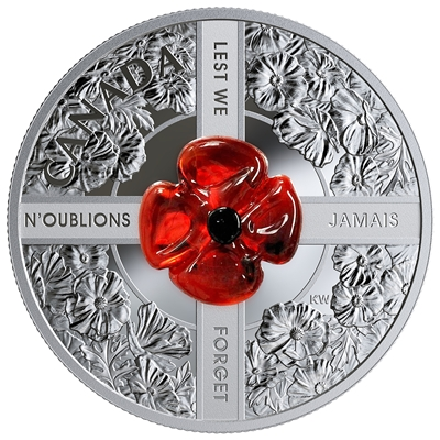 2019 $20 Silver Lest We Forget Murano