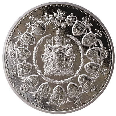 2019 $500 Brilliant Mastery in Canada - Pure Silver Coin