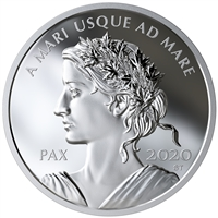 2020 $1 Peace Dollar - Pure Silver Coin