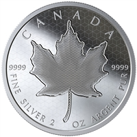2020 $10 Pulsating Maple Leaf - Pure Silver Coin