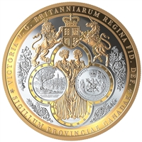 2019 $100 Silver Great Seal Province of Canada