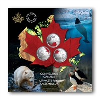 2020 25c Connecting Canada Coin Set