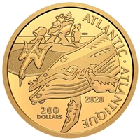 2020 $200 Canadian Coastal Symbols: The Atlantic - Pure Gold Coin