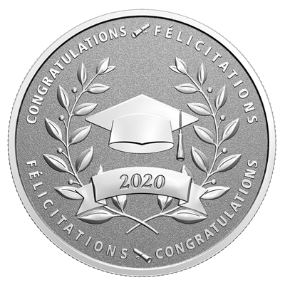 2020 $10 Congratulations on Your Graduation - Pure Silver Coin