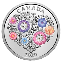 2020 $3 Celebration of Love - Pure Silver Coin