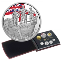 2020 75th Anniversary of V-E Day - Special Edition Silver Dollar Proof Set