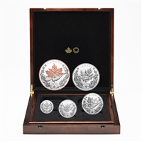2020 The Canadian Maple Masters Collection - Pure Silver Coin Set